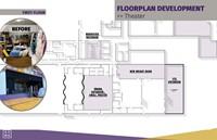 Floorplan development of Theater