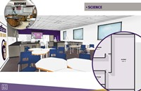 Science room mockup